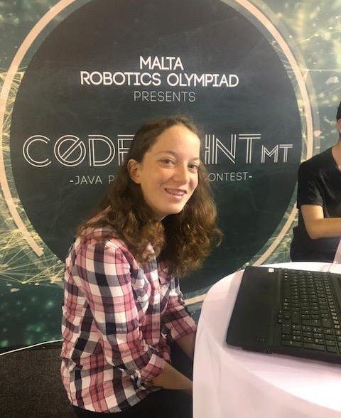 """Amy Calleja makes it to Microsoft's """"Girls A.I. Bootcamp"""" in Greece"""