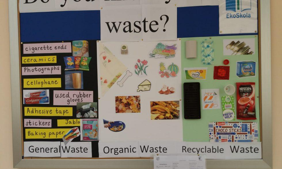 Waste Separation – an EkoSkola Initiative