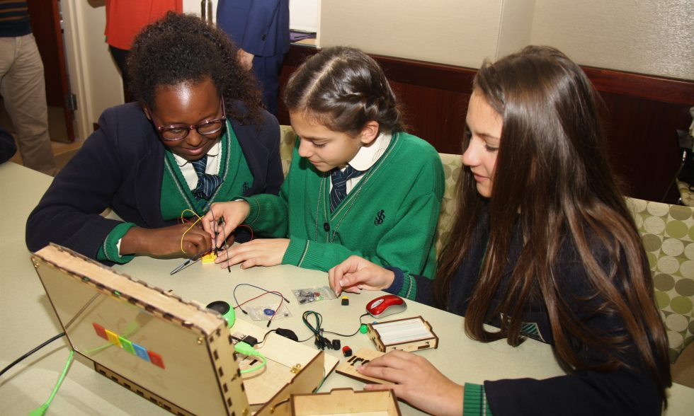 STEM Tech-Shop at the United States Embassy