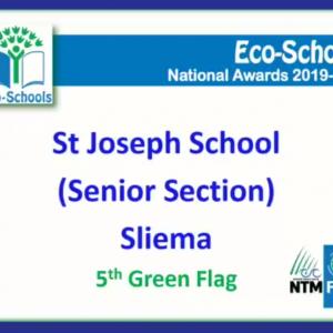 Ekoskola Green Flag Ceremony – 5th Green Flag Award